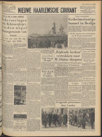 Nieuwe Haarlemsche Courant 1956-04-24