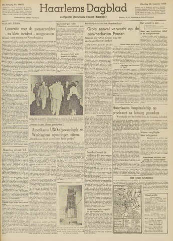 Haarlem's Dagblad 1950-08-26