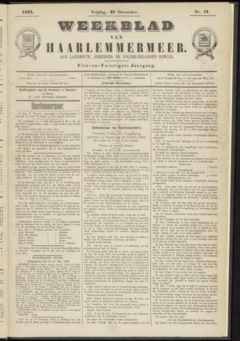 Weekblad van Haarlemmermeer 1883-12-21