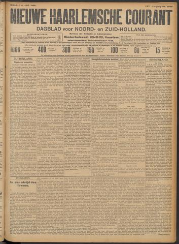 Nieuwe Haarlemsche Courant 1909-08-17