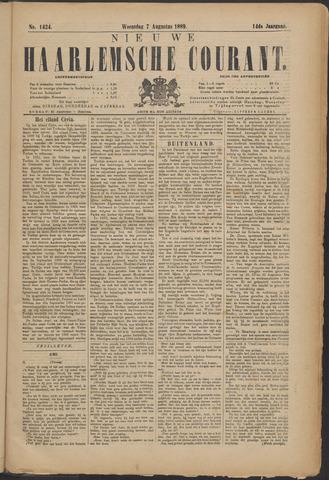 Nieuwe Haarlemsche Courant 1889-08-07