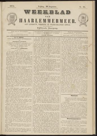 Weekblad van Haarlemmermeer 1874-08-28