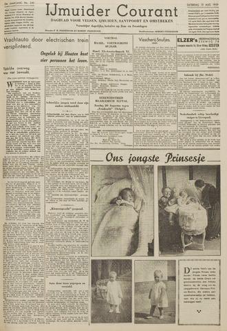 IJmuider Courant 1939-08-12