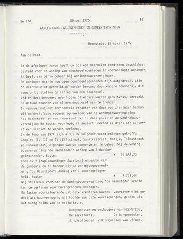 Raadsnotulen Heemstede 1975-05-29