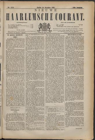 Nieuwe Haarlemsche Courant 1891-12-20