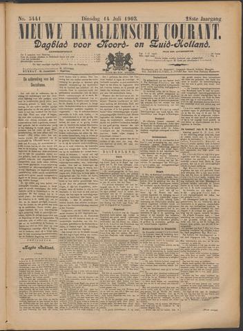 Nieuwe Haarlemsche Courant 1903-07-14