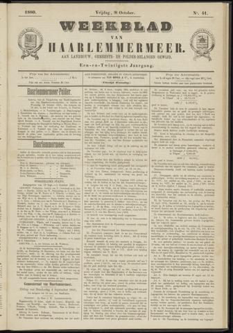 Weekblad van Haarlemmermeer 1880-10-08