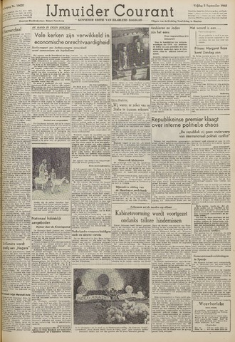 IJmuider Courant 1948-09-03