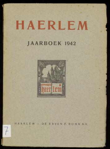 Jaarverslagen en Jaarboeken Vereniging Haerlem 1942
