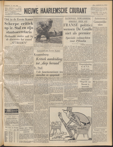 Nieuwe Haarlemsche Courant 1958-05-21