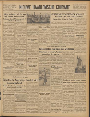 Nieuwe Haarlemsche Courant 1947-07-04
