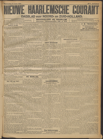 Nieuwe Haarlemsche Courant 1916-06-21