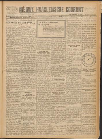 Nieuwe Haarlemsche Courant 1927-02-16
