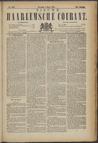 Nieuwe Haarlemsche Courant 1891-03-04