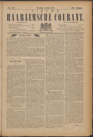 Nieuwe Haarlemsche Courant 1887-10-05