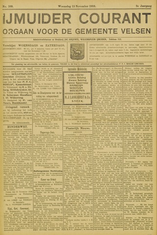 IJmuider Courant 1916-11-15