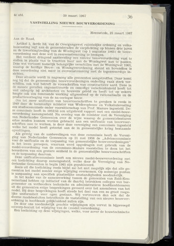Raadsnotulen Heemstede 1967-03-30