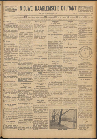 Nieuwe Haarlemsche Courant 1930-12-09