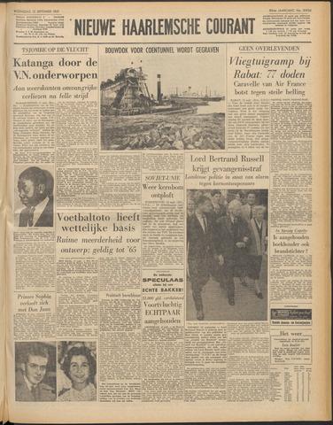 Nieuwe Haarlemsche Courant 1961-09-13