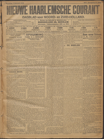 Nieuwe Haarlemsche Courant 1916-01-04