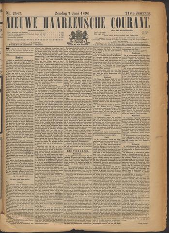 Nieuwe Haarlemsche Courant 1896-06-07