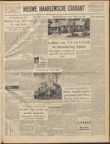 Nieuwe Haarlemsche Courant 1959-09-26