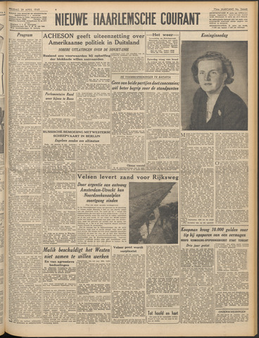 Nieuwe Haarlemsche Courant 1949-04-29