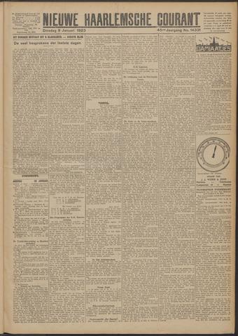 Nieuwe Haarlemsche Courant 1923-01-09