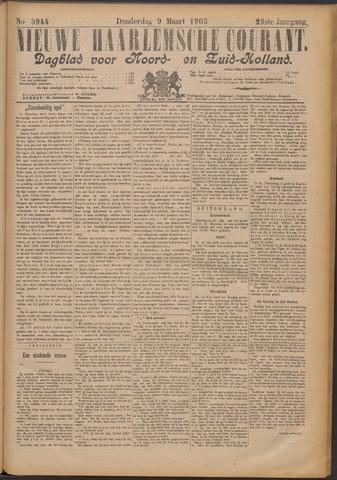 Nieuwe Haarlemsche Courant 1905-03-09