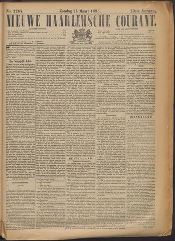 Nieuwe Haarlemsche Courant 1895-03-24