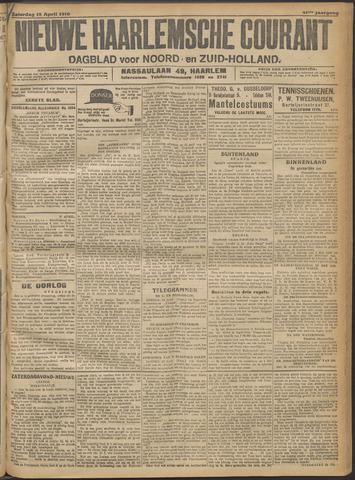 Nieuwe Haarlemsche Courant 1916-04-15