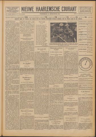 Nieuwe Haarlemsche Courant 1931-08-12