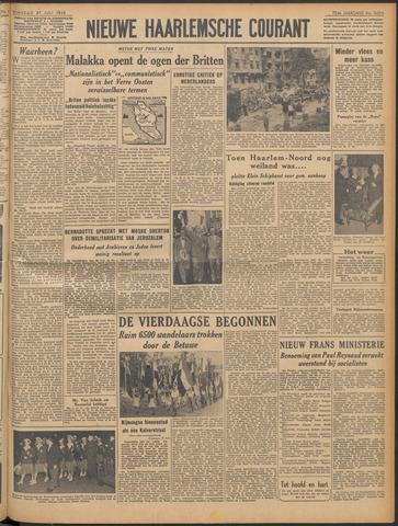 Nieuwe Haarlemsche Courant 1948-07-27