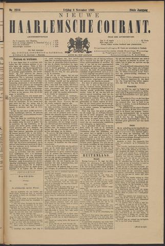 Nieuwe Haarlemsche Courant 1895-11-08