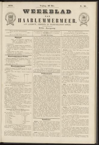 Weekblad van Haarlemmermeer 1870-05-20
