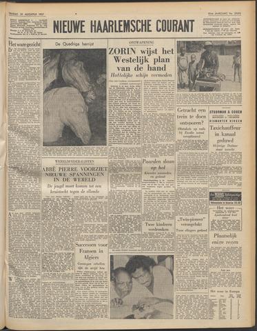 Nieuwe Haarlemsche Courant 1957-08-30