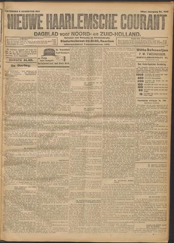 Nieuwe Haarlemsche Courant 1914-08-08