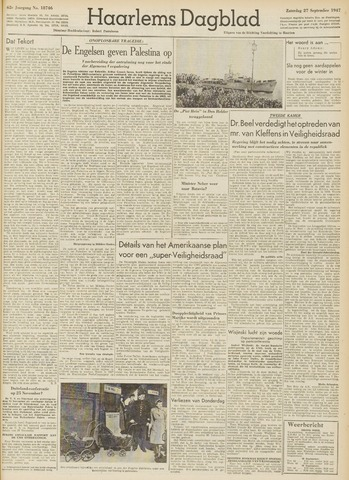 Haarlem's Dagblad 1947-09-27