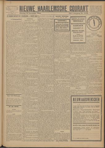 Nieuwe Haarlemsche Courant 1923-12-18