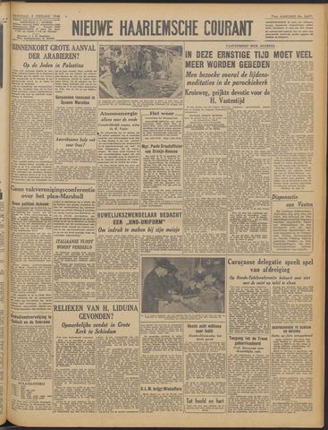 Nieuwe Haarlemsche Courant 1948-02-09