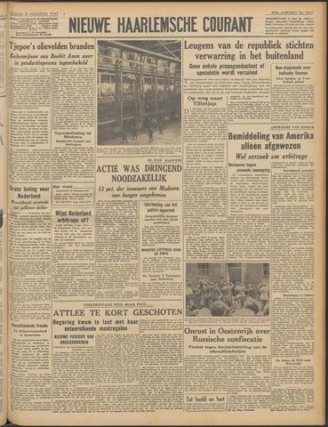 Nieuwe Haarlemsche Courant 1947-08-08