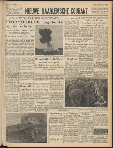 Nieuwe Haarlemsche Courant 1954-05-21
