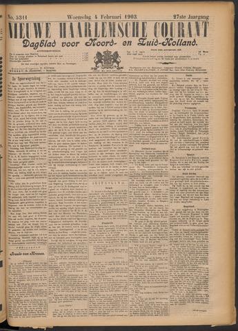 Nieuwe Haarlemsche Courant 1903-02-04