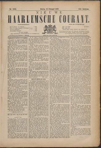 Nieuwe Haarlemsche Courant 1889-02-10
