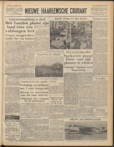 Nieuwe Haarlemsche Courant 1957-03-05