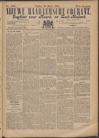 Nieuwe Haarlemsche Courant 1903-03-20