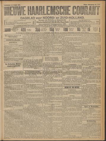 Nieuwe Haarlemsche Courant 1911-02-21