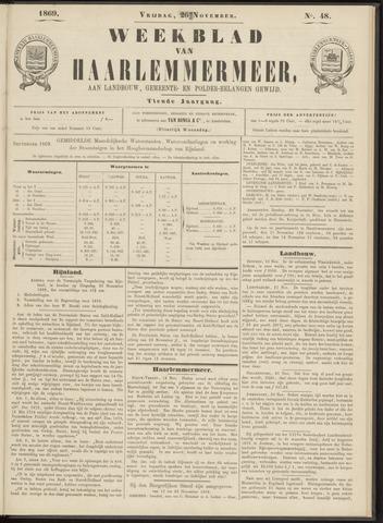 Weekblad van Haarlemmermeer 1869-11-26