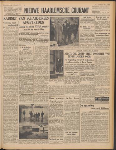 Nieuwe Haarlemsche Courant 1951-01-25