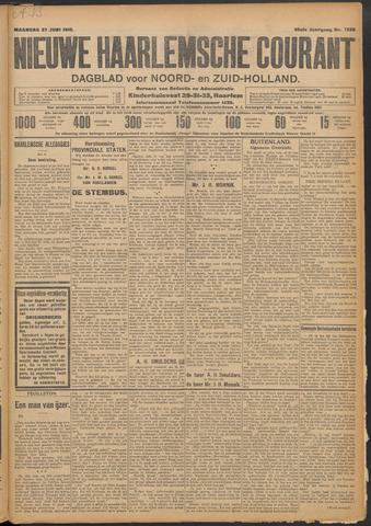 Nieuwe Haarlemsche Courant 1910-06-27
